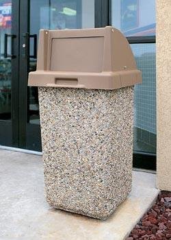 30 Gallon Outdoor Trash can